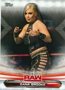 2019 WWE Raw Wrestling Cards (Topps) Dana Brooke 21