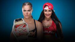 Evolution 2018 Ronda Rousey vs. Nikki Bella