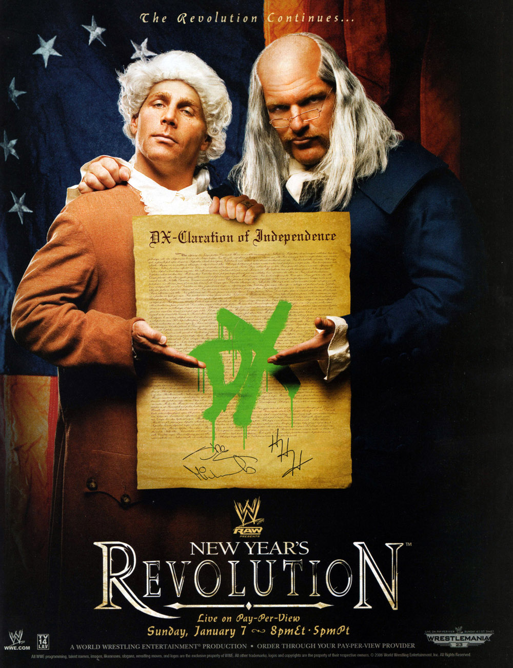 Image result for WWE New Year's Resolution 2007