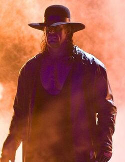 Undertaker with Fire