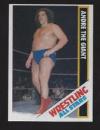 1985 Wrestling All Stars Trading Cards Andre The Giant 46