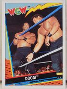 1992 WCW Trading Cards (Topps) Doom 11