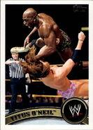 2011 WWE (Topps) Titus O'Neil 85