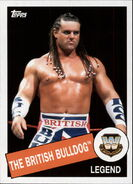 2015 WWE Heritage Wrestling Cards (Topps) The British Bulldog 7