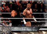 2017 WWE Road to WrestleMania Trading Cards (Topps) Triple H 14