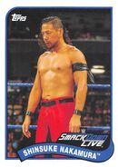 2018 WWE Heritage Wrestling Cards (Topps) Shinsuke Nakamura 74