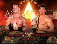 Chris Benoit vs. Eddie Guerrero Armageddon 2002