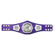 WWE Crusierweight Championship Mini Replica Title