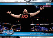 2019 WWE Road to WrestleMania Trading Cards (Topps) Kevin Owens 81