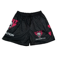 The Hart Foundation Chalk Line Shorts