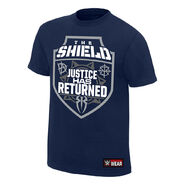 The Shield Justice Has Returned Youth Authentic T-Shirt