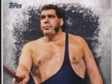 2016 Topps WWE Undisputed Wrestling Cards Andre The Giant (No.42)