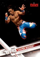 2017 WWE Wrestling Cards (Topps) Xavier Woods 34