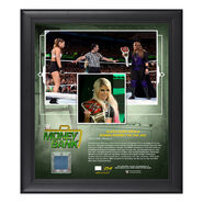 Alexa Bliss Money in The Bank 2018 15 x 17 Framed Plaque w Ring canvas