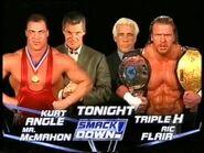 Kurt Angle & Vince McMahon vs Ric Flair & Triple H