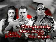 Kurt Angle vs. The Rock No Mercy 2000