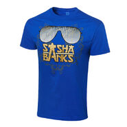 Sasha Banks Shades Authentic T-Shirt
