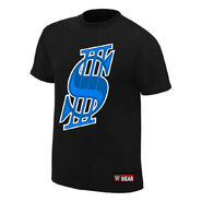 Shane McMahon Dollar Sign Authentic T-Shirt