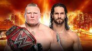 WM 35 Lesnar v Rollins