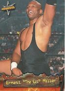 1999 WCW Embossed (Topps) Ernest Miller 33