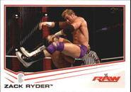 2013 WWE (Topps) Zack Ryder 43