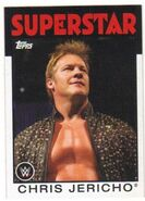 2016 WWE Heritage Wrestling Cards (Topps) Chris Jericho 10