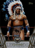 2018 Legends of WWE (Topps) Tatanka 50