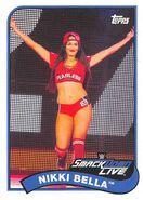 2018 WWE Heritage Wrestling Cards (Topps) Nikki Bella 56