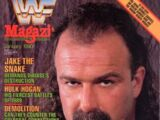 WWF Magazine - January 1990