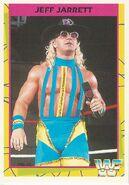 1995 WWF Wrestling Trading Cards (Merlin) Jeff Jarrett 143
