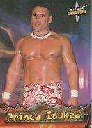 1999 WCW Embossed (Topps) Prince Iaukea 43