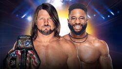 COC 2019 AJ Styles vs. Cedric Alexander