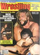 Sports Review Wrestling - October 1985