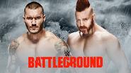 WWE Battleground 2015 - Orton v Sheamus
