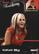 2009 TNA Knockouts (Tristar) Velvet Sky 72