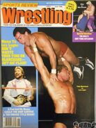 Sports Review Wrestling - June 1988