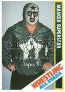 1985 Wrestling All Stars Trading Cards Masked Superstar 49