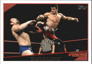 2009 WWE (Topps) Evan Bourne 15