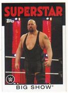 2016 WWE Heritage Wrestling Cards (Topps) Big Show 4