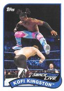 2018 WWE Heritage Wrestling Cards (Topps) Kofi Kingston 41