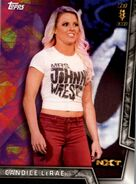 2018 WWE Women's Division (Topps) Candice LeRae 35