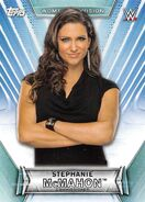 2019 WWE Women's Division (Topps) Stephanie McMahon 17