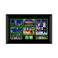 Daniel Bryan WrestleMania 34 Signed Commemorative Plaque