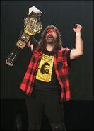 Mick Foley TNA World Heavyweight
