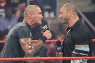 Raw 9-14-09 Orton confronts Batista