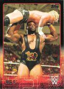 2015 WWE (Topps) Big E 7