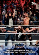 2018 WWE Road to Wrestlemania Trading Cards (Topps) The Wyatt Family 64