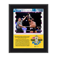 Keith Lee NXT TakeOver In Your House 2020 10 x 13 Limited Edition Plaque
