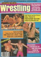 Sports Review Wrestling August 1987