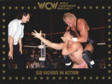 1991 WCW Collectible Trading Cards (Championship Marketing) Sid Vicious in Action (No.43)
